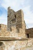 Forteresse Genoese dans la ville de Sudak Images stock