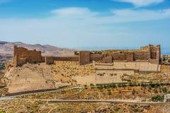 Forteresse Jordanie de château de croisé de kerak d'Al Karak Images libres de droits
