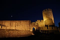Forteresse Kalemegdan de Belgrade Photo stock