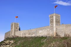 Forteresse médiévale photos libres de droits
