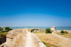 Forteresse médiévale Akkerman le Belgorod-Dniestr Image stock