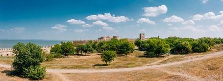 Forteresse médiévale Akkerman le Belgorod-Dniestr Photographie stock libre de droits