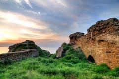 Forteresse médiévale d'Akkerman près d'Odessa en Ukraine Image libre de droits