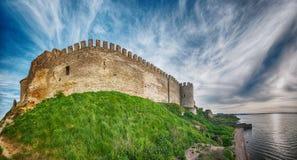 Forteresse médiévale d'Akkerman près d'Odessa en Ukraine Photo libre de droits