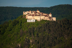 Forteresse de Rasnov Photographie stock