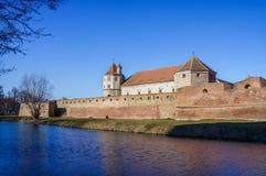 Forteresse médiévale de Fagaras Images stock