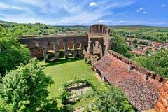 Forteresse médiévale de la Roumanie Slimnic photos stock