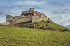 Forteresse médiévale de Rupea, Roumanie Photo libre de droits