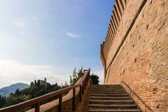 Forteresse médiévale de Venetians dans Brisighella Photos stock