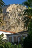 forteresse, nafplion Photos stock