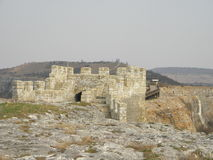 Forteresse Ovech, Bulgarie Photographie stock