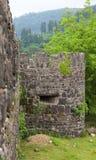 Forteresse romaine antique. Gonio. La Géorgie. Image stock