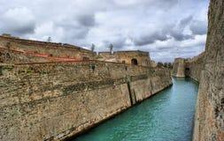 Forteresse royale de Ceuta Images stock