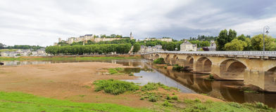 Forteresse Royale de Chinon Image stock
