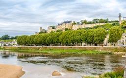 Forteresse Royale De Chinon Fotografia Royalty Free