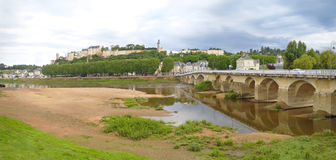Forteresse Royale de Chinon Stock Photography