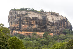 Forteresse Sri Lanka de roche de Sigirya Image stock