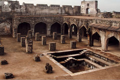 Fortes antigos de India Fotos de Stock Royalty Free