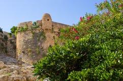 Fortess antiques dans Rethymno, Crète, Grèce photo libre de droits