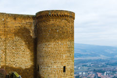 Fortess in Orvieto, Italy, Europe Royalty Free Stock Image