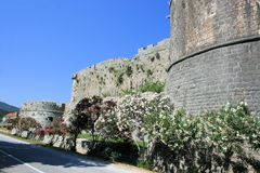 Fortess Ston, Croatie Photographie stock libre de droits