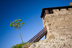 Fortess in visegrad Royalty Free Stock Photography