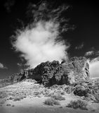 Fortet vaggar delstatsparken i centrala Oregon arkivbilder