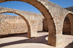 Fortress in Rethymno, Crete, Greece. Royalty Free Stock Images