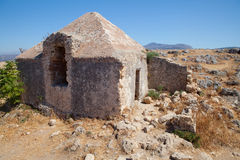 Fortress in Rethymno, Crete, Greece. Royalty Free Stock Image