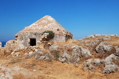Fortress in Rethymno, Crete, Greece. Royalty Free Stock Photo