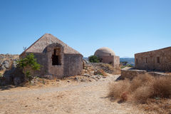 Fortress in Rethymno, Crete, Greece. Stock Photography