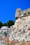 Fortetza: Venetian fortress in Rethymno, Crete Stock Photo