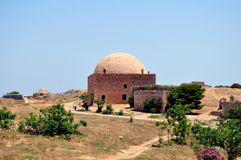 Fortetza: Venetian fortress in Rethymno, Crete Stock Images