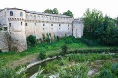 Fortezza Albornoz royaltyfri foto
