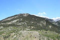 Fortezza in alpi Fotografia Stock Libera da Diritti
