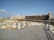 Fortezza antica nel Portogallo Fotografia Stock Libera da Diritti