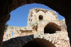 Fortezza antica Yehiam Fotografia Stock Libera da Diritti