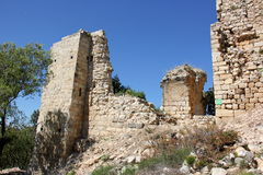 Fortezza antica Yehiam Fotografia Stock