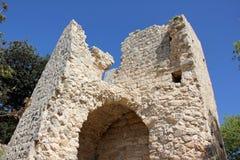 Fortezza antica Yehiam Immagini Stock Libere da Diritti