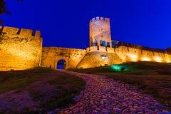 Fortezza Beograd - Serbia di Kalemegdan fotografie stock