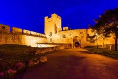 Fortezza Beograd - Serbia di Kalemegdan immagine stock