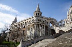Fortezza Budapest del pescatore fotografia stock libera da diritti