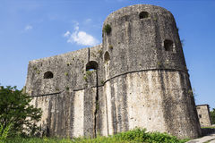 Fortezza in Castelnuovo, Montenegro fotografia stock libera da diritti