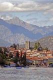 Lago Como in Italia, Rezzonico Immagine Stock Libera da Diritti