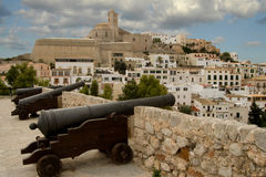 Fortezza Dalt Vila (Ibiza) Fotografia Stock Libera da Diritti