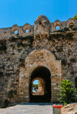 Fortezza de Rethymno na Creta, Grécia Imagens de Stock Royalty Free