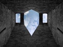 Fortezza del castello Fotografia Stock