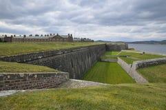 Fortezza del George della fortificazione, Scozia Fotografia Stock Libera da Diritti