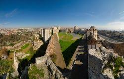 Fortezza del kule di Yedi a Costantinopoli fotografie stock libere da diritti