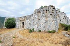 Fortezza del Pasha dell'Ali, Parga Immagine Stock